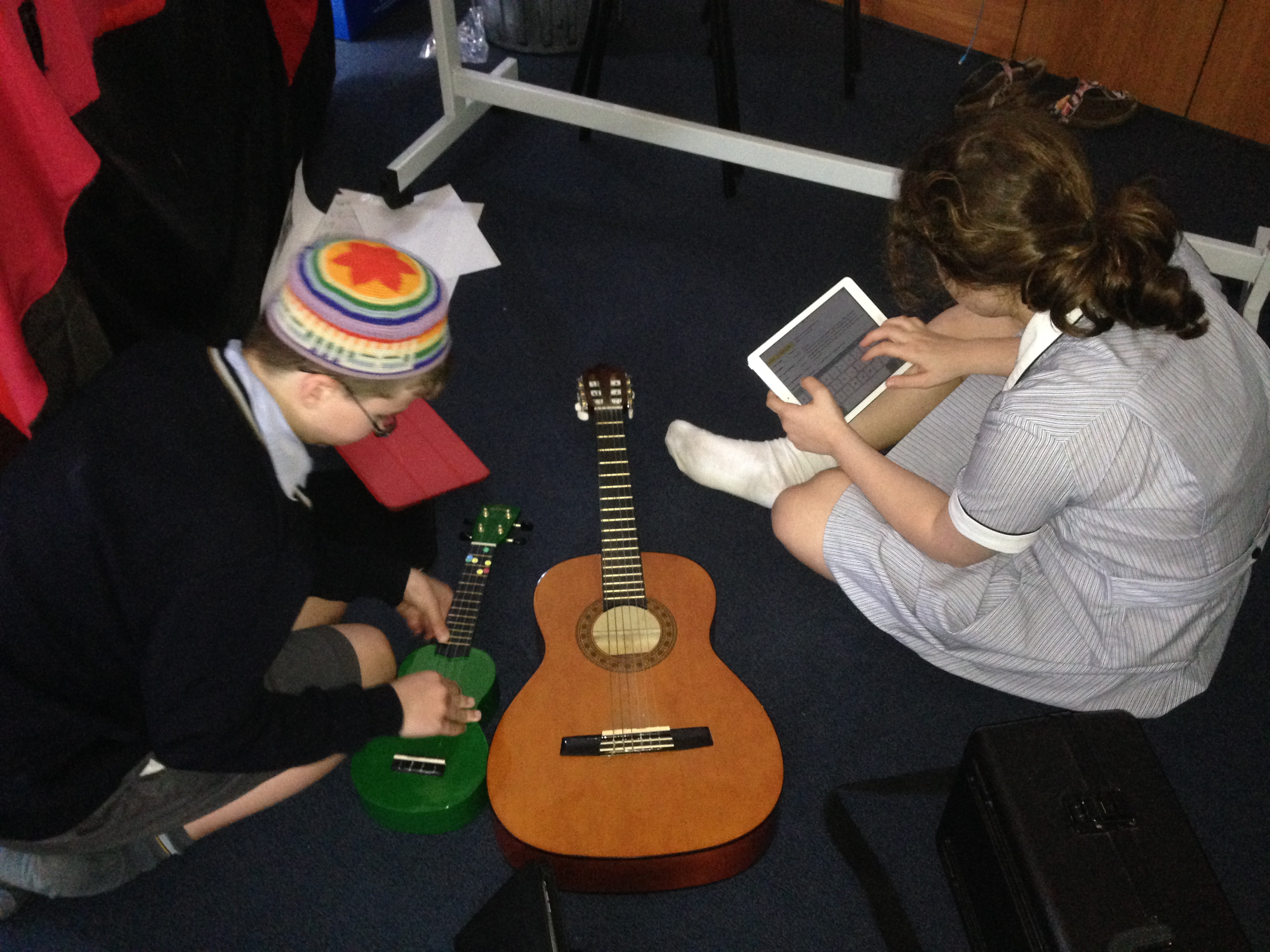 Comparing the sounds made by different instruments